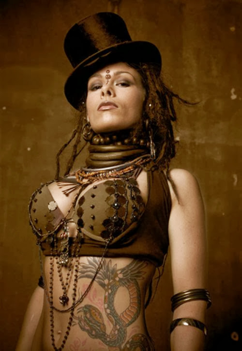 Sexy Steampunk Girl 9
