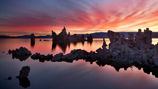Dawn Fire, Mono Lake, California.jpg