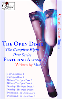 Cherish Desire Singles: The Open Door (The Complete Eight Part Series) featuring Alyssa, Alyssa, Tom, Max, erotica