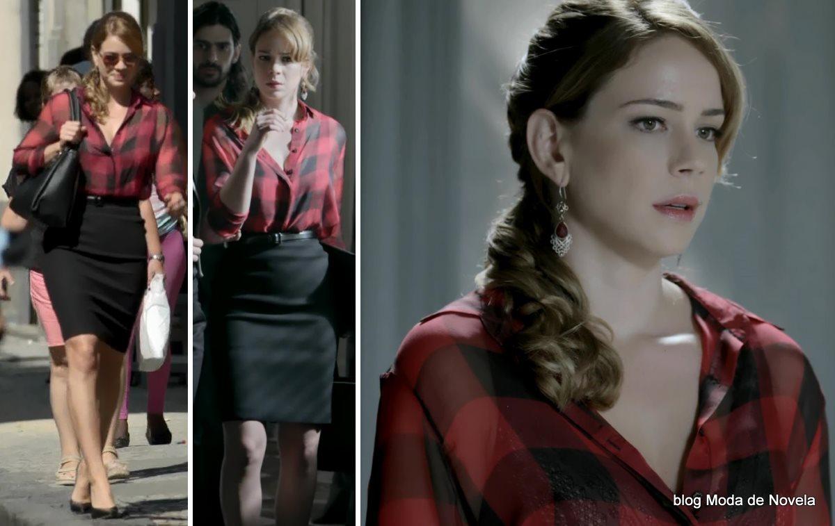 moda da novela Império, look da Cristina dia 13 de novembro