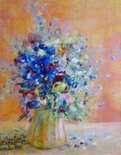 """""""Springtim?e Loveliness' by artist Nancy M. Young."""