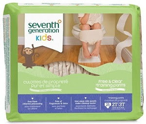 Potty Training Pants product package