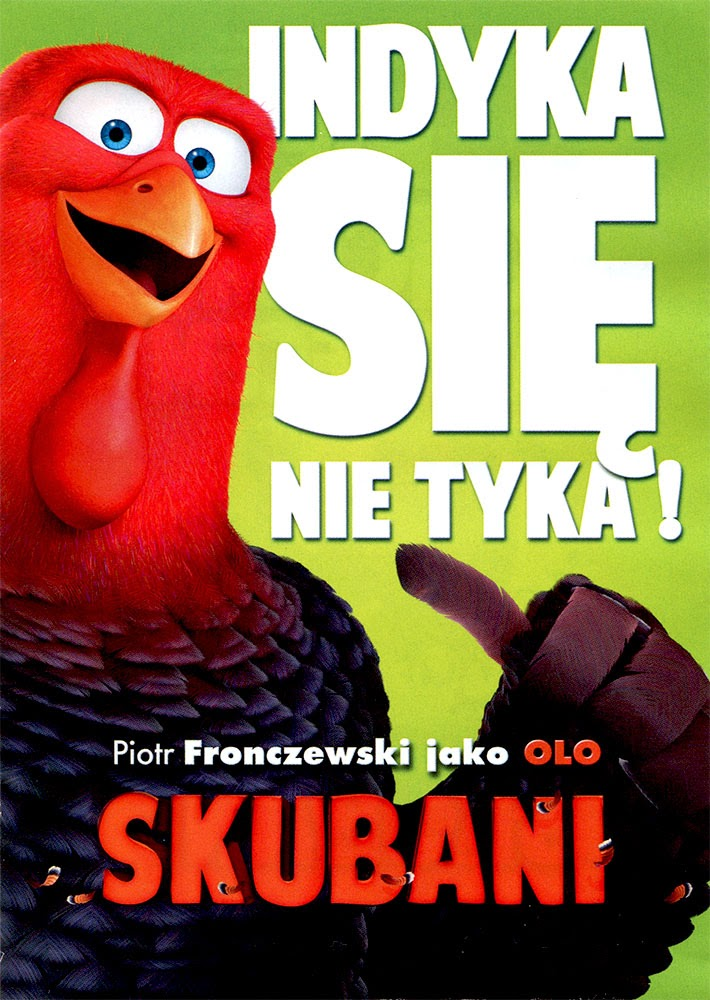 Ulotka filmu 'Skubani (tył - wersja C)'