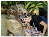 james eaten by the big crocodile at crocolandia