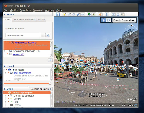 Ubuntu 12.10 - Google Earth