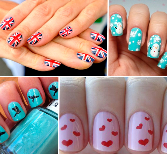 Unhas com Estampas Divertidas!