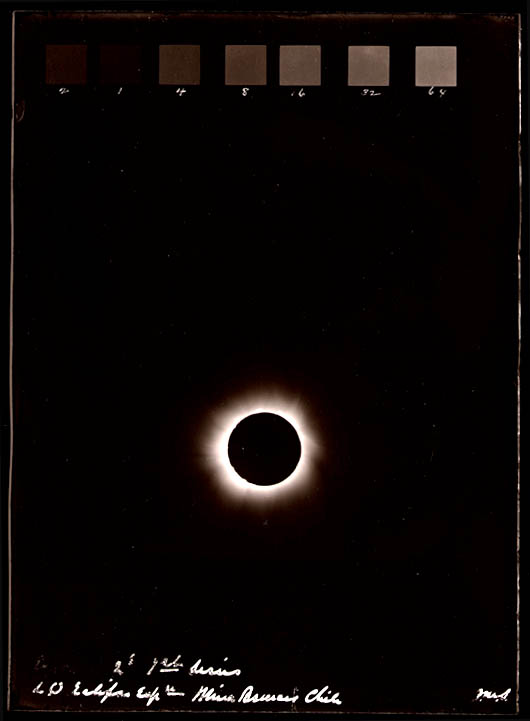 Solar Eclipse: Photographs 1889-1918