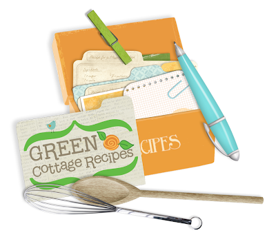 the green cottage recipe box