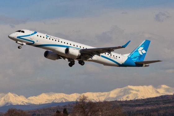 Air Dolomiti - il nuovo collegamento Milano Bergamo Orio al Serio-Monaco