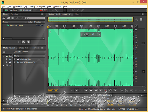 Adobe Audition CC 2014