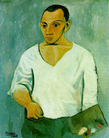 Pablo Picasso - Self-Portrait 1906