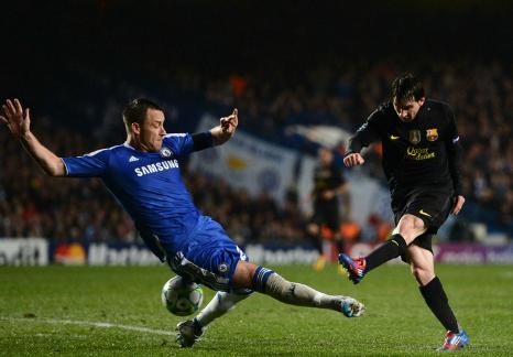 Lionel Messi, Chelsea - Barcelona