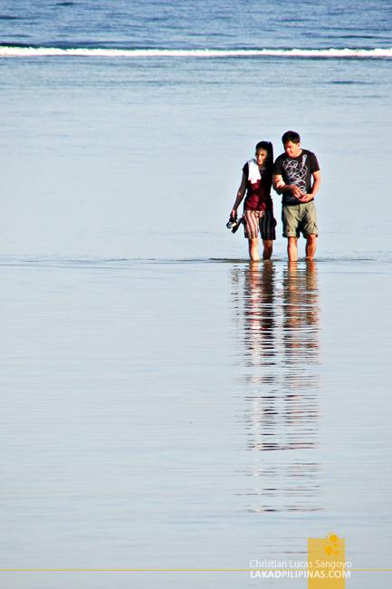 A Couple at Bolinao, Pangasinan