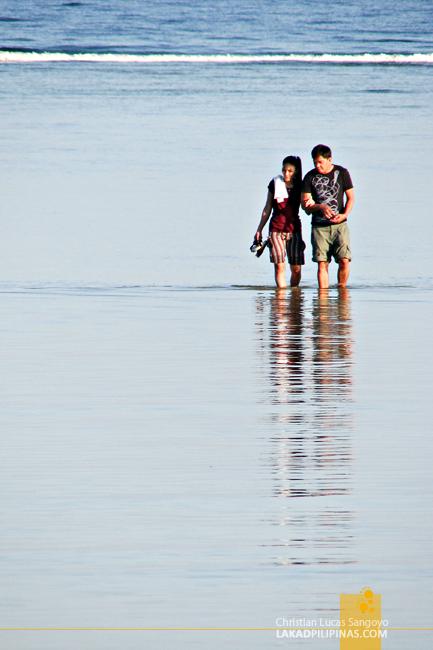 A Couple at Bolinao, Pangasinan