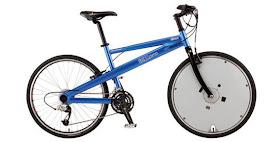 Cambia una rueda y convierte tu bici en eléctrica