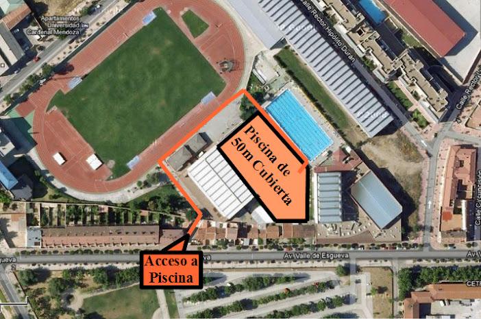 Natacion parquesol piscinas competicion for Piscina rio esgueva