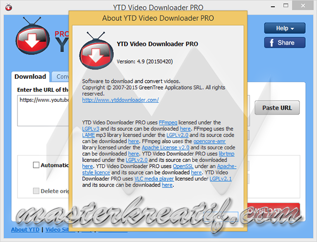 YTD Video Downloader PRO 4.9