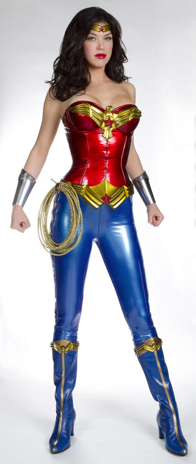 Leotard wonder woman costume-8281