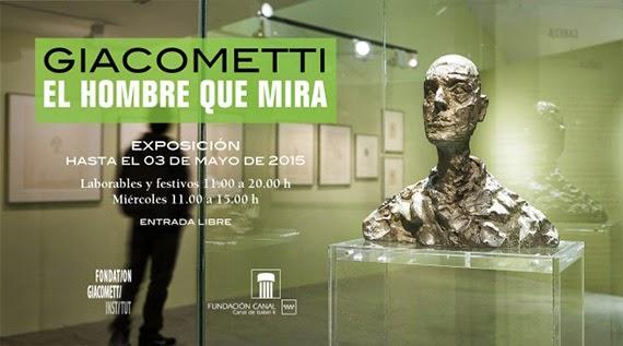 Exposición 'Giacometti. El hombre que mira' en Fundación Canal