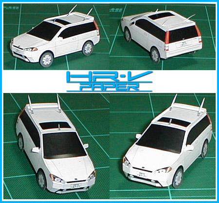 Honda HR-V Papercraft
