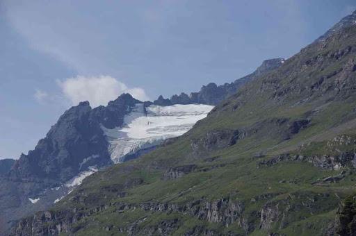 Le glacier de la Tsessette (contrefort du Grand Combin)