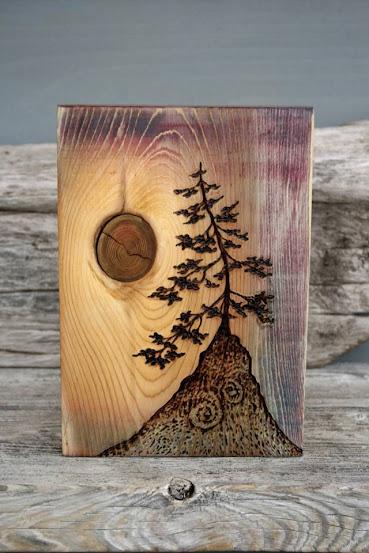 égetett fa képek készítése Fába égetett képek: pirográfia, a tűzfestés művészete | Szépítők  égetett fa képek készítése