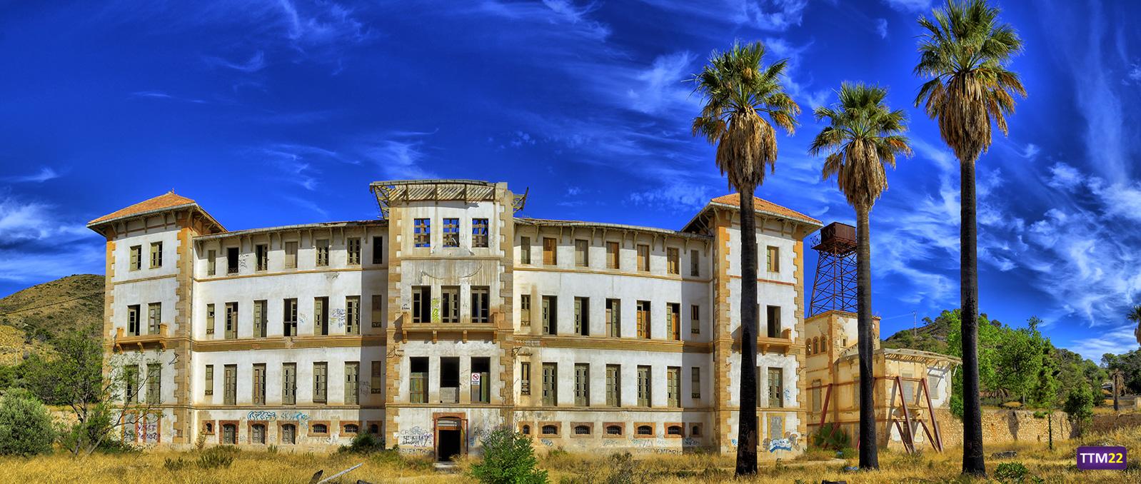 Los lugares abandonados más espectaculares de España Preventorio-aguas-busot-hdr