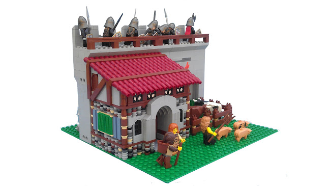 Lego Medieval House lego medieval |