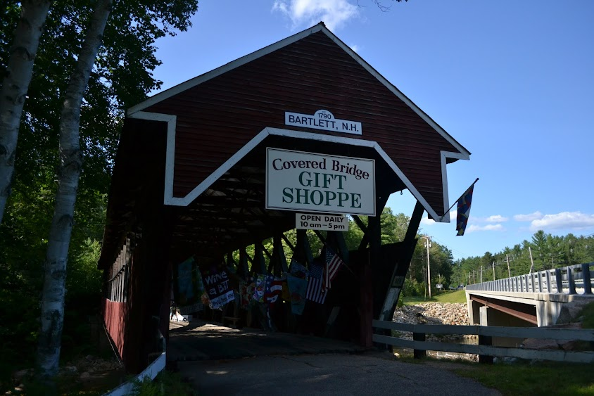 Крытый мост, Бартлетт, Нью-Гэмпшир (Covered Bridge, Bartlett, NH)