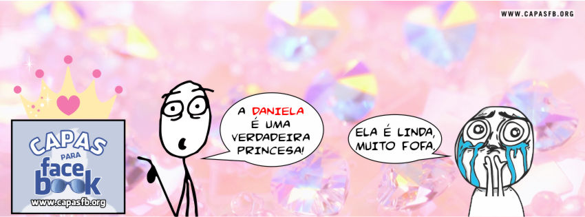 Capas para Facebook Daniela
