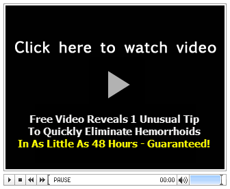 Shrink External Hemorrhoids In 48 Hours