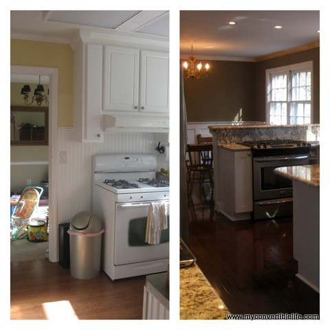 My Convertible Life Remodeling 5 Kitchen Before And After