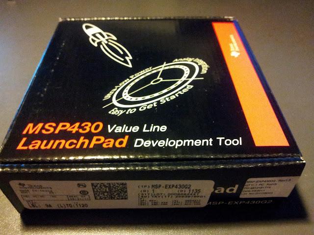TI MSP430 LaunchPad - Sebastian Österlund