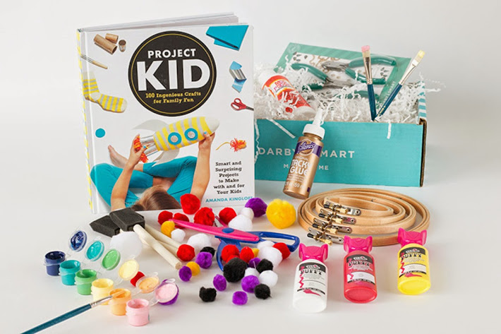 Darby Smart Project Kid Deluxe Craft Box