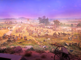 A portion of the Gettysburg Cyclorama