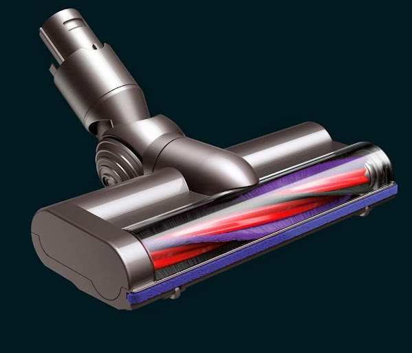 The Dyson DC59 Re-Designed Brush Bar - Go From Carpet to Hardwood with Ease #DysonatBestBuy #BestBuyWOLF