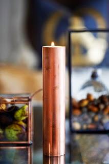 velas de cobre para no abandonar la navidad tan rápido