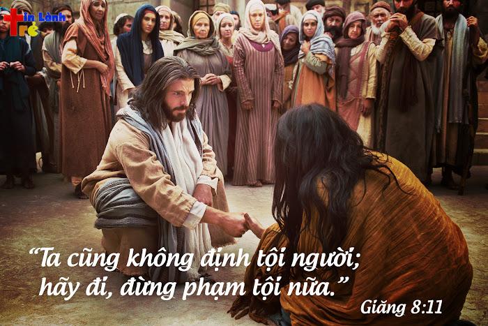 Thực ra, khi bạn tiếp nhận Chúa Giê-xu chính là thời điểm mọi tội lỗi cũ của bạn đã bị xóa bỏ...