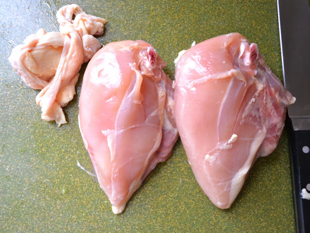 skinned breast