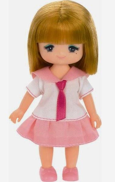 Búp bê Maki với khuôn mặt xinh xắn và mái tóc cắt bằng đáng yêu