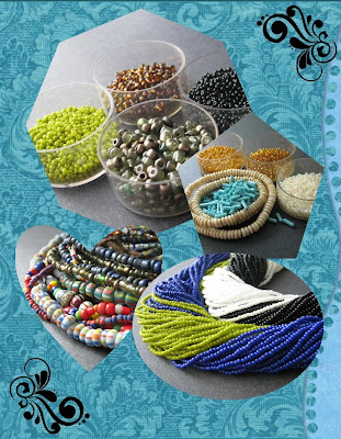 Bead Collage Made with MyMemories Software