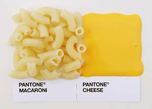 pantone macaroni and cheese