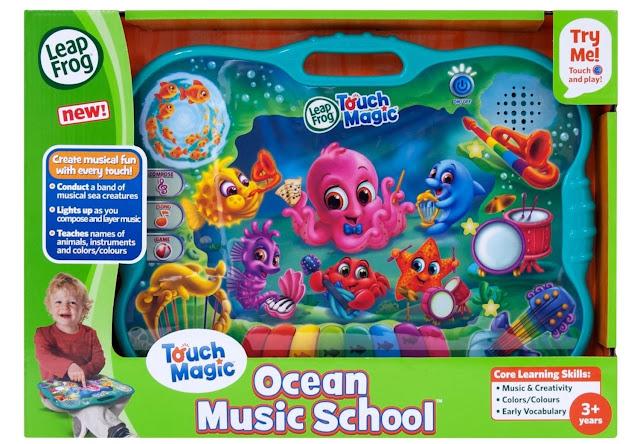 Hình ảnh bao bì sản phẩm Trường học âm nhạc dưới đại dương LeapFrog