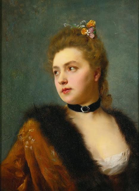 Gustave Jean Jacquet - Parisienne