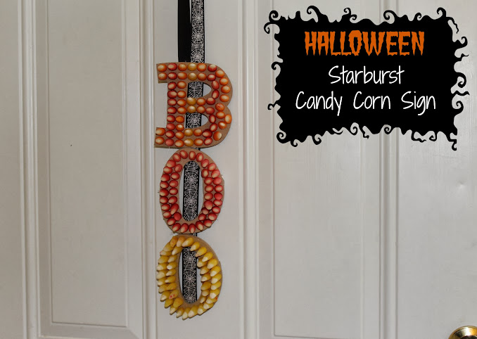 DIY Halloween Projects with #StarburstCandyCorn