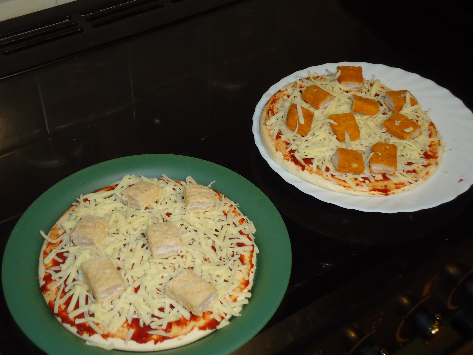 A mothers ramblings fish finger pizza yes you read for Pizza and fish express