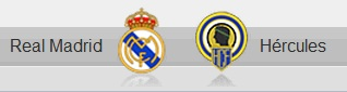 Real Madrid vs Hercules