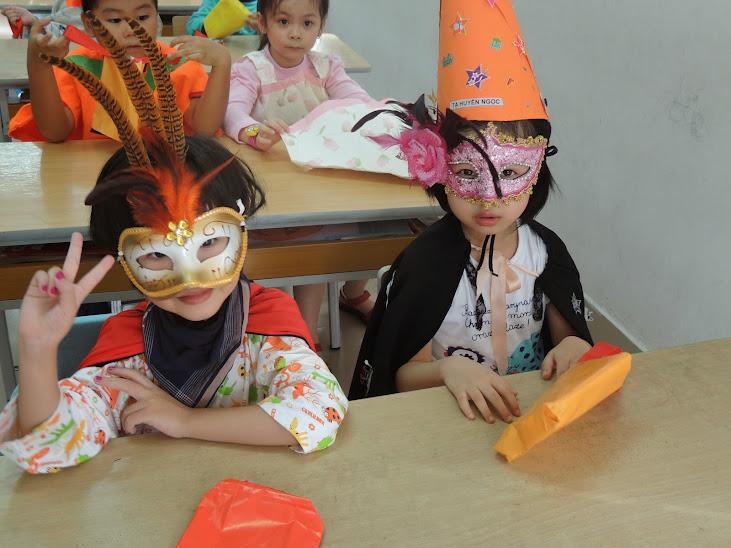 Một số hình ảnh trong Lễ hội hóa trang Halloween ở trường Thăng Long Kidsmart