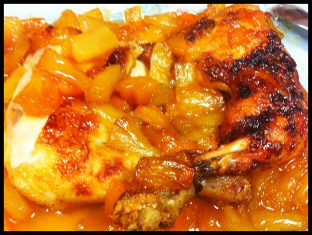 Two Ladies And A Spoon Baked Chicken With Pineapple And