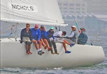 J/105s sailing in San Diego YC Masters regatta